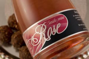Semiška penina Rose 0,75l
