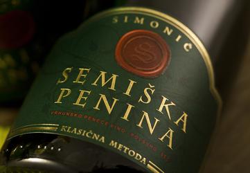Semiška sparkling wine - sec  0.75l
