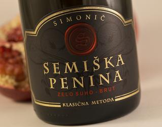 Semiška sparkling wine - brut 0.75l